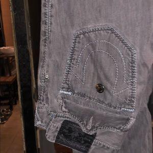 True Religion Faded Black Jeans